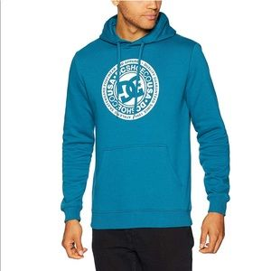 🔥DC Men's Circle Star Pullover Hoodie NWT